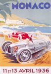 LARGE French Monaco F1 Grand Prix 1936 Metal Sign Plaque 30 x 40 cm